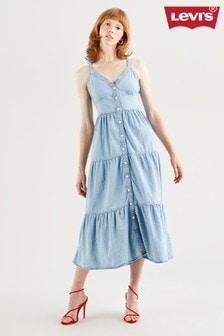 Levi's® Denim Tiered Sabine Dress