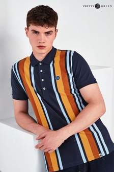 Pretty Green Carnation Knitted Polo