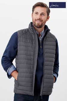 Joules Grey Go To Lightweight Barrel Gilet