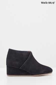 White Stuff Navy Issy Shoe Boots