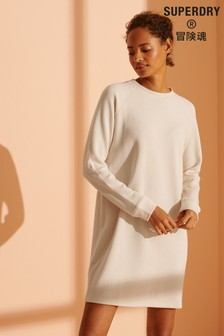 Superdry Soft Rib Crew Neck Dress