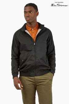 Ben Sherman Black Signature Harrington Jacket
