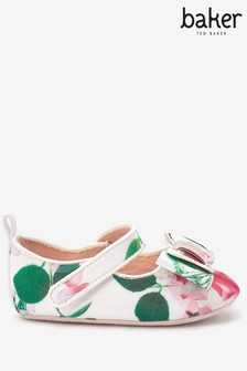 Baker by Ted Baker Floral Mary Jane Padders