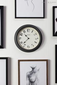 Jones Clocks Venetian Blizzard Grey Wall Clock