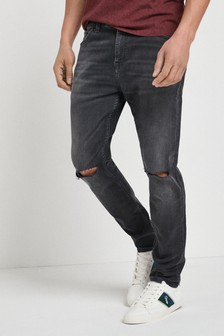 Ripped Jeans With Stretch