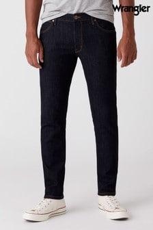 Wrangler Larston Dark Rinse Slim Tapered Jeans