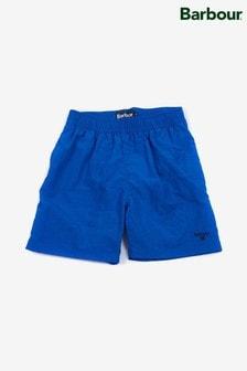 Barbour® Blue Swim Shorts