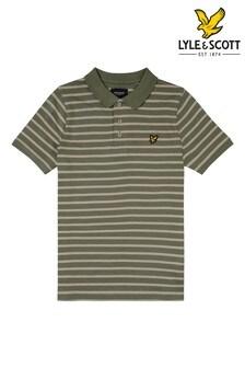 Lyle & Scott Boys Breton Stripe Polo