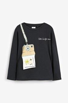 Interactive Long Sleeve T-Shirt (3-16yrs)