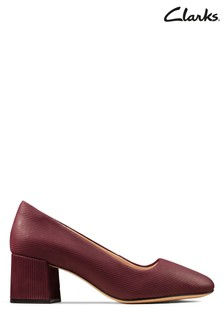 Clarks Red Sheer Rose Shoe