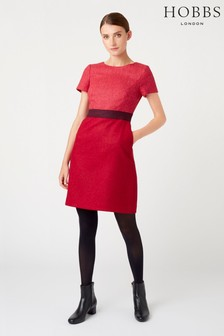 Hobbs Pink Theresa Dress