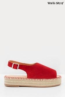 White Stuff Roxanne Suede Flatform Sandals