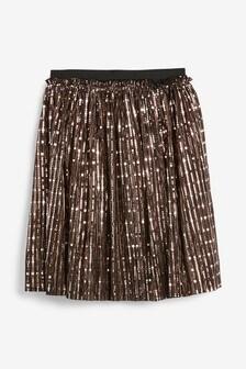Foil Midi Skirt (3-16yrs)