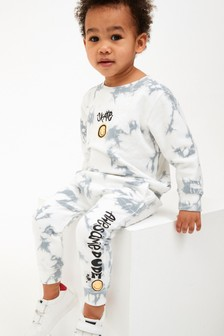 Tie Dye Crew And Joggers Set (3mths-7yrs)