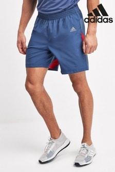 adidas Blue Own The Run Shorts