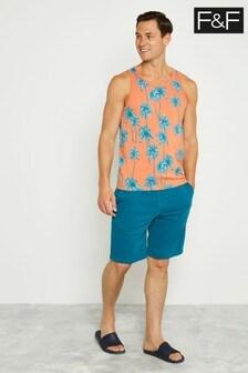F&F Teal Shorts