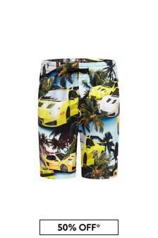 Molo Boys Multicoloured Cotton Shorts