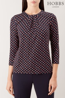 Hobbs Blue Julia Top