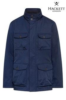 Hackett Blue Padded Field Jacket