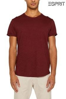 Esprit Orange Crew Neck T-Shirt
