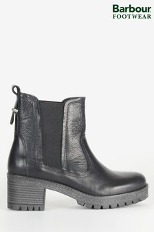 Barbour® Leather Kirk Heeled Chelsea Boots
