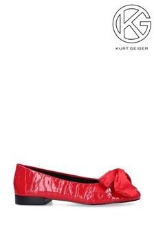 Kurt Geiger Milo Red Flat Loafers