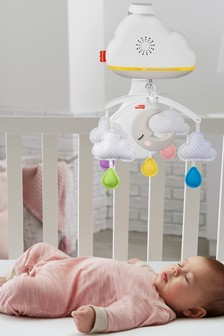 Fisher-Price Calming Clouds Mobile Soother For Cot