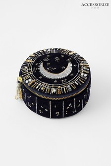 Accessorize Moon & Star Embellished Jewellery Box