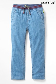 White Stuff Blue Kids Expedition Denim Jeans