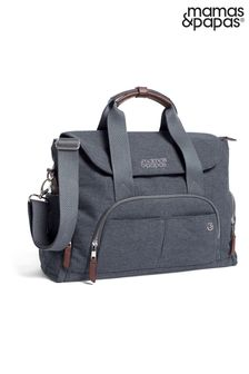 Bowler Changing Bag in Navy by Mamas and Papas