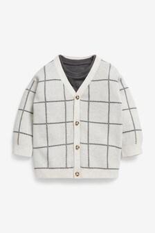 Button Through Cardigan And T-Shirt Set (3mths-7yrs)