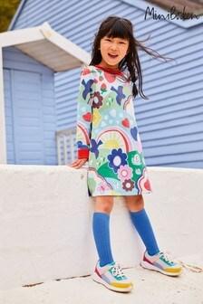 Boden Multi Cosy Printed Sweatshirt Dress