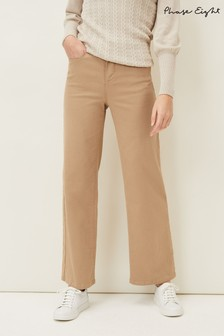 Phase Eight Neutral Viona Flare Jeans