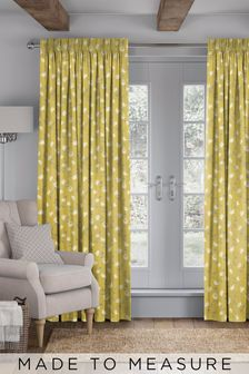 Carrara Mimosa Yellow Made To Measure Curtains