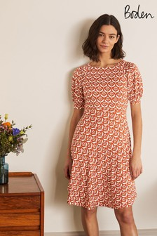 Boden Metallic Roberta Jersey Dress