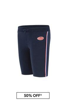 Bugatti Baby Boys Navy Cotton Boys Shorts