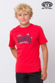 Animal Red Vice Graphic T-Shirt