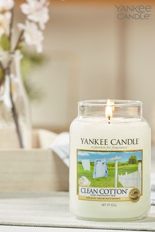 Yankee Candle Classic Large Clean Cotton Candle