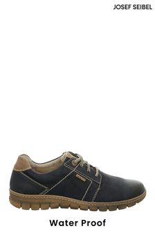 Josef Seibel Blue Steffi Waterproof Lace-Up Shoes