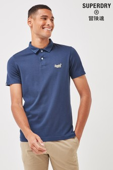 Superdry Short Sleeve Beach Jersey Polo Shirt