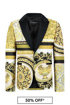 Versace Boys White Jacket