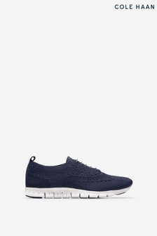 Cole Haan Blue Zerogrand Stitchlite Trainers