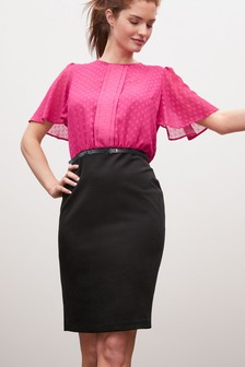2-In-1 Belted Dress