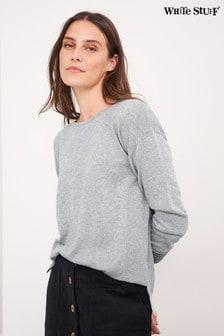 White Stuff Grey Olivia Jumper