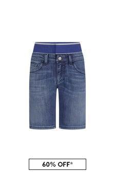 Emporio Armani Boys Blue Shorts