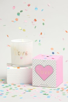 Strawberries & Cream Lots Of Love Candle