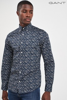 GANT Mens Harvest Print Slim Shirt