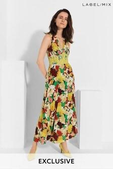 Mix/Caroline Issa Floral Maxi Dress