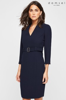 Damsel In A Dress Navy Lydia City Dress