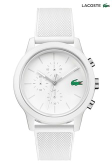 Lacoste.12.12 White Silicone Watch